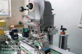 Machine à étiquettes de collant de dessus de côtés automatiques du bas deux