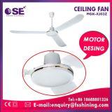 Ventilatore di soffitto moderno bianco basso di prezzi 1400mm per la Sudafrica (Hgk-Xj03Z)