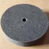 Roda de polir inoxidável de fibra de nylon não tecida