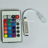 Clave de 24 mini controlador inalámbrico remoto por infrarrojos