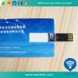 изготовленный на заказ визитная карточка USB привода вспышки ABS печатание 16g для подарков