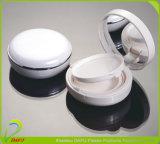 Astuce de beauté avec miroir Emballage de cosmétiques blanc