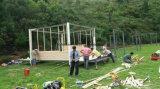 Het Leven van de Vakantie van de Decoratie van de luxe de Tent van het Huis van de Houten Container met SGS