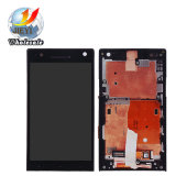 Handy LCD für Bildschirm-+Frame Analog-Digital wandler Sony-Xperia S Lt26I Lt26 LCD Display+Touch