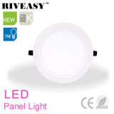 7W Round acrylique LGP LED Light Panel avec grand radiateur LED Light Panel