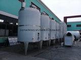 El tanque de almacenaje líquido del acero inoxidable