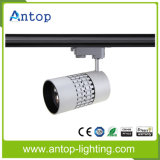 10W / 15W / 30W Blanc Noir Argent CREE COB LED Tracklight