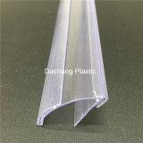 Parlatore di plastica trasparente della mensola
