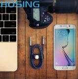 para o iPhone 6/7 de Samsung cabografa a 8 cabos do USB do relâmpago do Pin