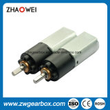 малый электрический мотор коробки передач уменьшения 9V с 864:1 коэффициента