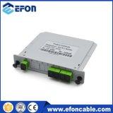 ADSLのディバイダー損失1 4つのPLCのファイバーの光学ディバイダーボックス価格