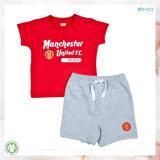 Soft Handfeel Kids Clothes Unisex Conjunto de roupas para crianças