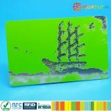 Kundenspezifisches Großhandelsdrucken Plastik-Belüftung-Geschenkkarte mit Kartenhalter