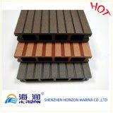 Decking di plastica di legno del composto WPC di prezzi di fabbrica a Guangzhou