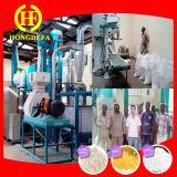 Fraisage de repas de maïs de moulin de maïs à échelle réduite 10t de l'Afrique
