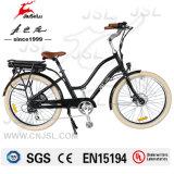 Черный 36V литиевая батарея 250W городской электрический Велосипед (JSL038S-2)