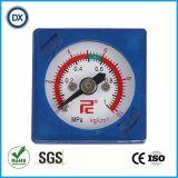 002正方形の圧力計圧力ガスかLiqulid