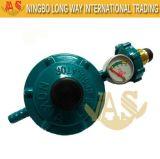 Válvula de baixa pressão com pressão ajustável do indicador com calibre LPG,