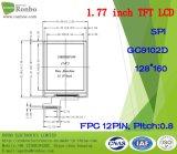 "1.77 "" 128*160 Spi 12pin LCD Bildschirm, hohe Helligkeit TFT LCD"