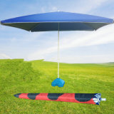 屋外に日傘