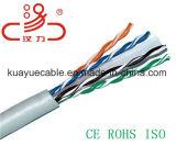 Cabo do gato 6 UTP ou cabos do gato 6/cabo do áudio do conetor de cabo de uma comunicação de cabo dos dados cabo do computador