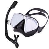 Gafas de máscara de snorkel con tubo de respiración equipo de snorkel
