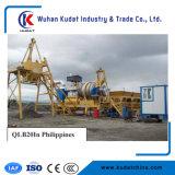 planta de mistura móvel do asfalto 10tph com venda quente e preço do competidor