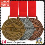 Самое лучшее продавая изготовленный на заказ медаль металла спорта бега потехи
