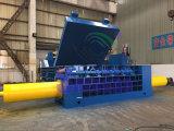 Prensa de empacotamento de bronze de aço de alumínio da sucata hidráulica grande