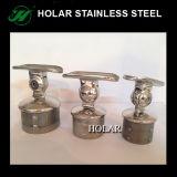 Guarniciones de la barandilla del acero inoxidable de AISI 304, portador del tubo
