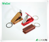Nuovo bastone elegante di memoria del USB del cuoio con il marchio personalizzato (WY-L23)