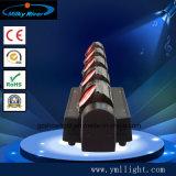 6PCS*12W 4in1 RGBW CREE LED verdoppeln bewegliches Hauptstadiums-Licht des stab-3