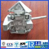 ISO-Behälter, der Torsion-Verschluss-Zwischentorsion-Verschluss peitscht