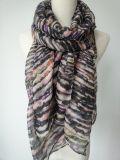 Sciarpa di Ployester di colore di Muitic per le donne, scialli di modo, sciarpe delle signore