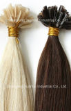 Ombre colore a extensão superior lisa do cabelo humano da queratina feita do cabelo do Virgin