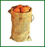 Natürlicher Jutefaser-Leinwand-Kaffee-Beutel für Verpackung 2.5kg