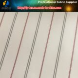 Tela barata de la raya del poliester para el forro del abrigo de pieles (S69.152)