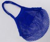 Réutiliser les sacs 100% du marché de maille de coton/sacs à provisions nets pour la femme au foyer