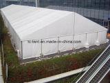 Grande tenda del magazzino della struttura del PVC dell'alluminio con la parete solida