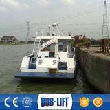 Mini ventes hydrauliques de grue de bateau dans le chantier naval