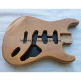 ニトロ終了する老化させた性質2部分のAlderの開始のギターボディ