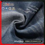 青いカラー綿ポリエステルファブリックデニムのジーンズファブリック
