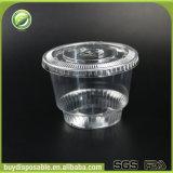 tazze di plastica libere a gettare del dessert 8oz/240ml