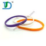 Braccialetto Luminoso-Colorato ecologico del silicone di 100%