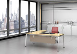 Ht09-2の白いカスタマイズされた金属の鋼鉄オフィスの管理の机フレーム