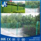 Rete fissa d'acciaio/giardino obbligazione inossidabile/antisettica galvanizzati verde che recinta con la polvere ricoperta