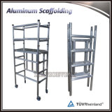 Échafaudage pliable réglable Matériau en aluminium