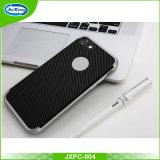 Волокно 2 углерода новых продуктов в 1 раковине крышки телефона силикона TPU+PC защитной в случай галактики S7 Samsung