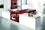 Comptoir de comptoir blanc à quartz blanc / comptoir de cuisine / comptoir en quartz blanc pur