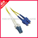 cabo ótico da fibra Singlemode frente e verso do SC LC de 3.0mm